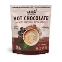 Laird Superfood Functional Mushrooms Hot Chocolate - Organic Cacao Powder Blended with Nourishing Mushrooms, 8oz Bag