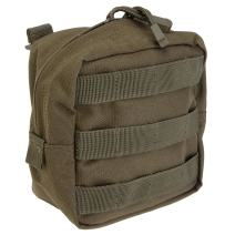 "5.11 Tactical 6"" x 6"" All Weather Nylon Molle Pouch Tech, YKK Zipper Hardware, Style 58713"
