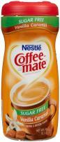Coffee Mate Coffee Creamer Powder, Sugar-Free Vanilla Caramel,  10.2 oz