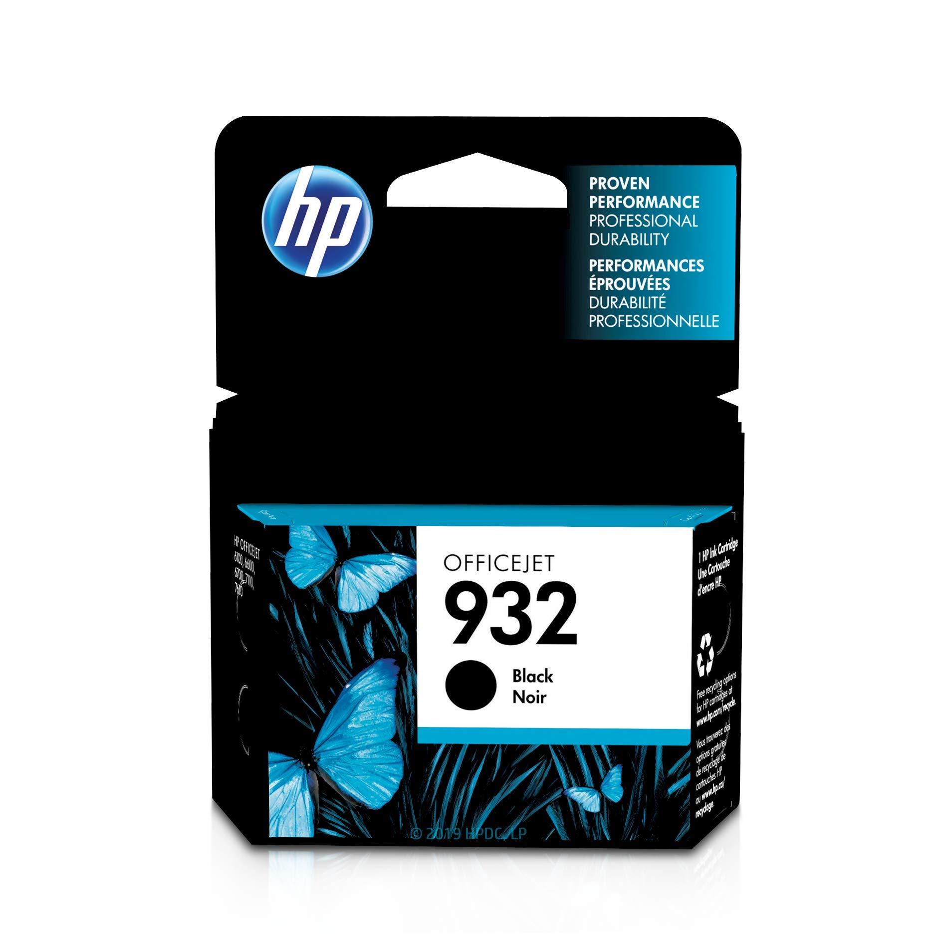 HP 932   Ink Cartridge   Black   CN057AN