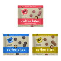 JavaUp Energy Coffee Bites, Variety (Pack of 6), Made of Organic Coffee, Chocolate, Quinoa, Sorghum and Organic Fruit Powder– Healthy, Gluten Free, Vegan Snack