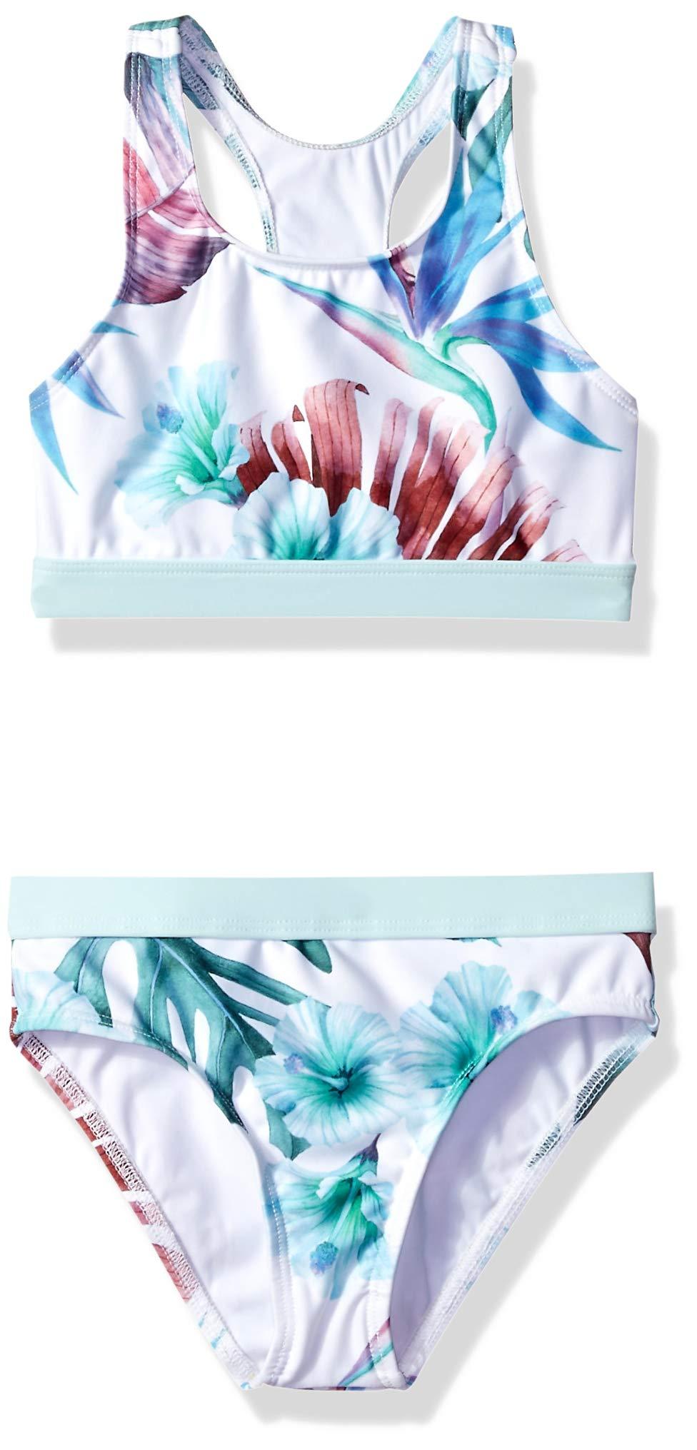 next Women's Big Girls' High Neck Bikini Top & Banded Bottom Swimsuit Set