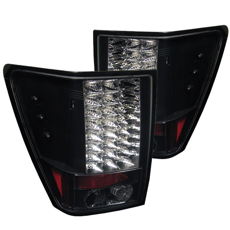Spyder Jeep Grand Cherokee 05-06 LED Tail Lights - Black