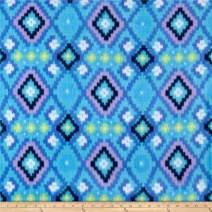 Newcastle Fabrics Polar Fleece Kai Blue Fabric By The Yard
