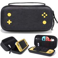 Rayvol Carrying Case for Nintendo Switch Lite - [Large Capacity] Fits 15 Game Cartridges, AC Adapter, Pokeball Plus and Other Accessories