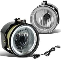 DNA MOTORING FL-HAS003-CH Chrome Driving Fog Lamp/Switch/CCFL Power Inverter (Driver & Passenger Side)