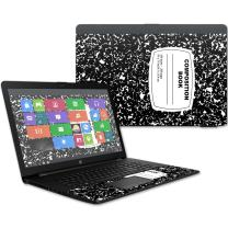 """MightySkins Skin Compatible with HP 17t Laptop 17.3"""" (2017) - Composition Book 