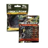 LOCK LACES for Boots (2 Pair) Premium Heavy Duty Elastic No Tie Boot Laces for Boots and Shoes