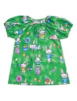 Toddler Baby Girl Summer Clothes Bunny Rabbit Dresses Easter Outfit