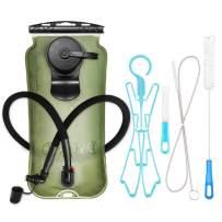 XGear Hydration Bladder 3 Liter Leak-Proof Water Reservoir, Military Class TPU Water Bladder Bag, BPA Free Hydration Pack, for Hiking Biking Climbing Cycling Running