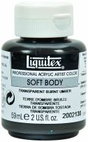 Liquitex 2002130 Professional Soft Body Acrylic Paint 2-oz jar, Transparent Burnt Umber