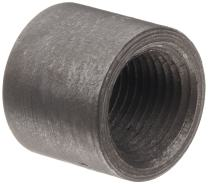 """Anvil 2119 Forged Steel Pipe Fitting, Class 3000, Half Coupling, 1-1/2"""" NPT Female"""