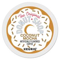 The Original Donut Shop Coconut Mocha, Single-Serve Keurig K-Cup Pods, Flavored Medium Roast Coffee, 96 Count