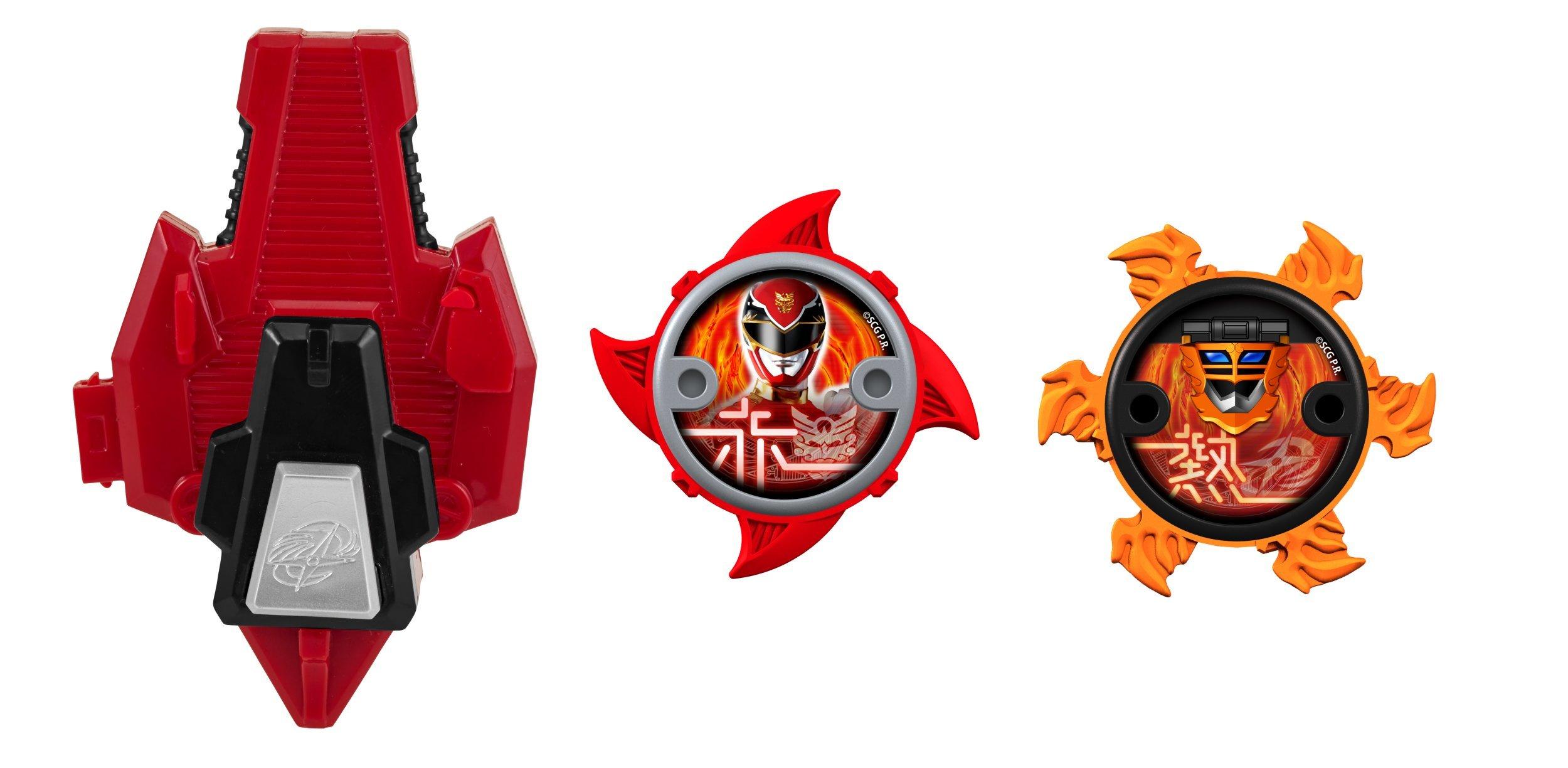 Power Rangers Super Steel Ninja Power Star Pack, Kodiak Zord