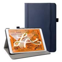 Grifobes iPad Mini 5 Case 2019,iPad Mini 4 Case,Premium Leather Slim Multi-Angle Viewing Stand Folio Cover Protective Case with Auto Wake/Sleep for iPad Mini 5th Generation 2019,Blue