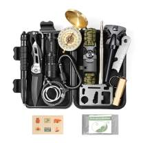 Gifts for Men Dad Husband First Fathers Day, Survival Kit 14 in 1, Fishing Hunting Camping Birthday Gifts Ideas for Him Boyfriend Teen Boy, Cool Funny Gadget Stocking Stuffer, Survival Gear