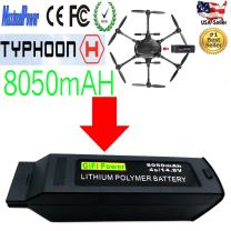 MaximalPower Gifi Power YUNEEC 8050mAh 4S High Power LiPo Flight Battery for Typhoon H (8050mAh 4S LiPo Battery-Type H)
