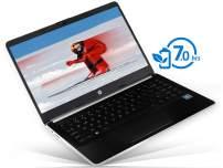 """HP 14 Laptop, 14"""" HD Display, Intel Pentium Gold 4417U 2.3GHz, 16GB RAM, 128GB SSD, HDMI, Card Reader, Wi-Fi, Bluetooth, Windows 10 Pro"""