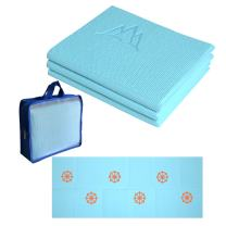 Khataland YoFoMat Kids, Ultra Thick Best Foldable Yoga Mat with Travel Bag, 60-Inch