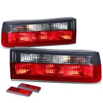 DNA Motoring TL-E3083-RD-SM Tail Light Assembly, Driver and Passenger Side