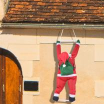 Joiedomi 35 Inch Climbing Hanging Santa Claus for Christmas Decoration