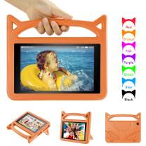 iPad Mini 1 2 3 4 Case for Kids - Auorld Light Weight Shock Proof Handle Friendly Convertible Stand Kids Case for iPad Mini, Mini 4,iPad Mini 3rd Generation, Mini 2 Tablet (Orange)