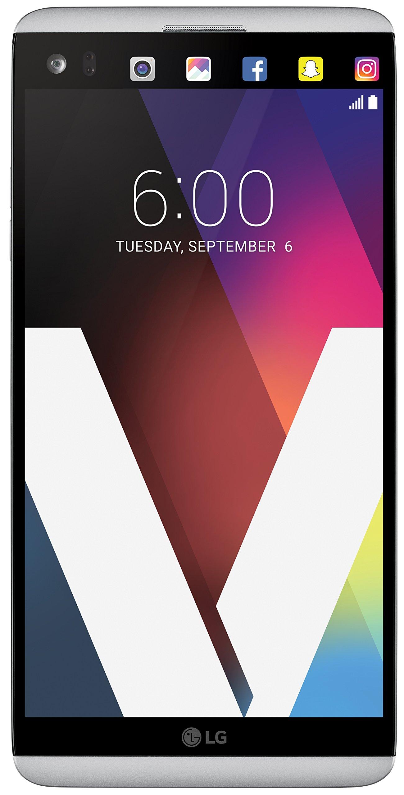 LG Electronics V20 - Factory Unlocked GSM Phone - Silver
