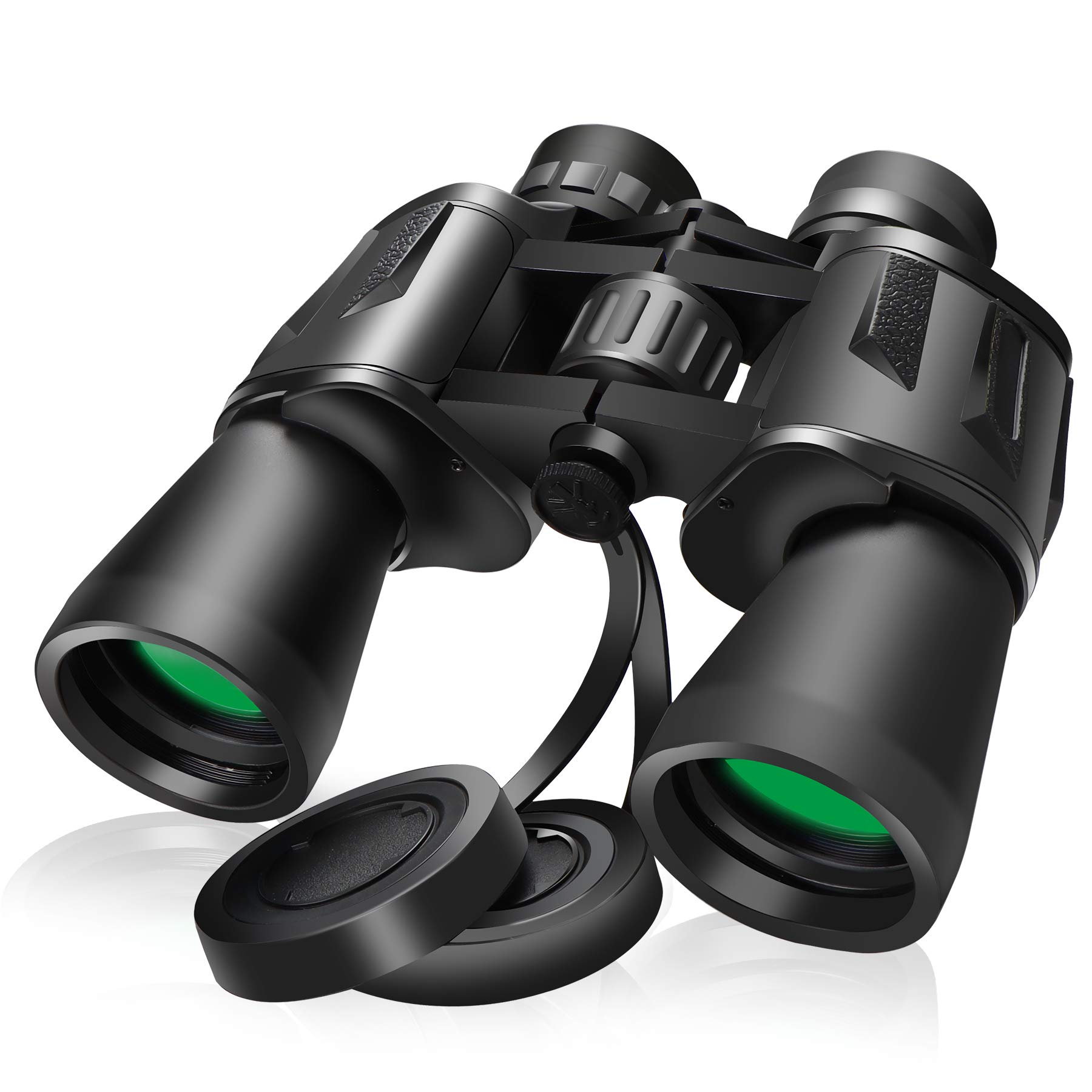 AMZSHURUI 10x50 Binoculars, Binoculars for Adults, Large Eyepiece, Powerful Binoculars for Bird Watching Hunting Travel Outdoor Sports Games and Concerts