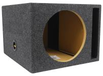 "Rockville XL Vented Sub Box Enclosure for Rockford Fosgate P3D4-12 12"" Subwoofer"