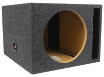 "Rockville XL Vented Sub Box Enclosure for Rockford Fosgate P3D4-12 12"" Subwoofer"