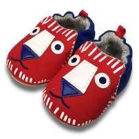 TIMATEGO Toddler Baby Boys Girls Shoes Non Skid Slipper Sneaker Moccasins Infant First Walker House Walking Crib Shoes(6-24 Months) 6-9 Months Infant, 01 Beige Elephant Baby Slipper