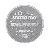 Snazaroo Face and Body Paint, 18ml, Sparkle Metallic Grey, 6 Fl Oz