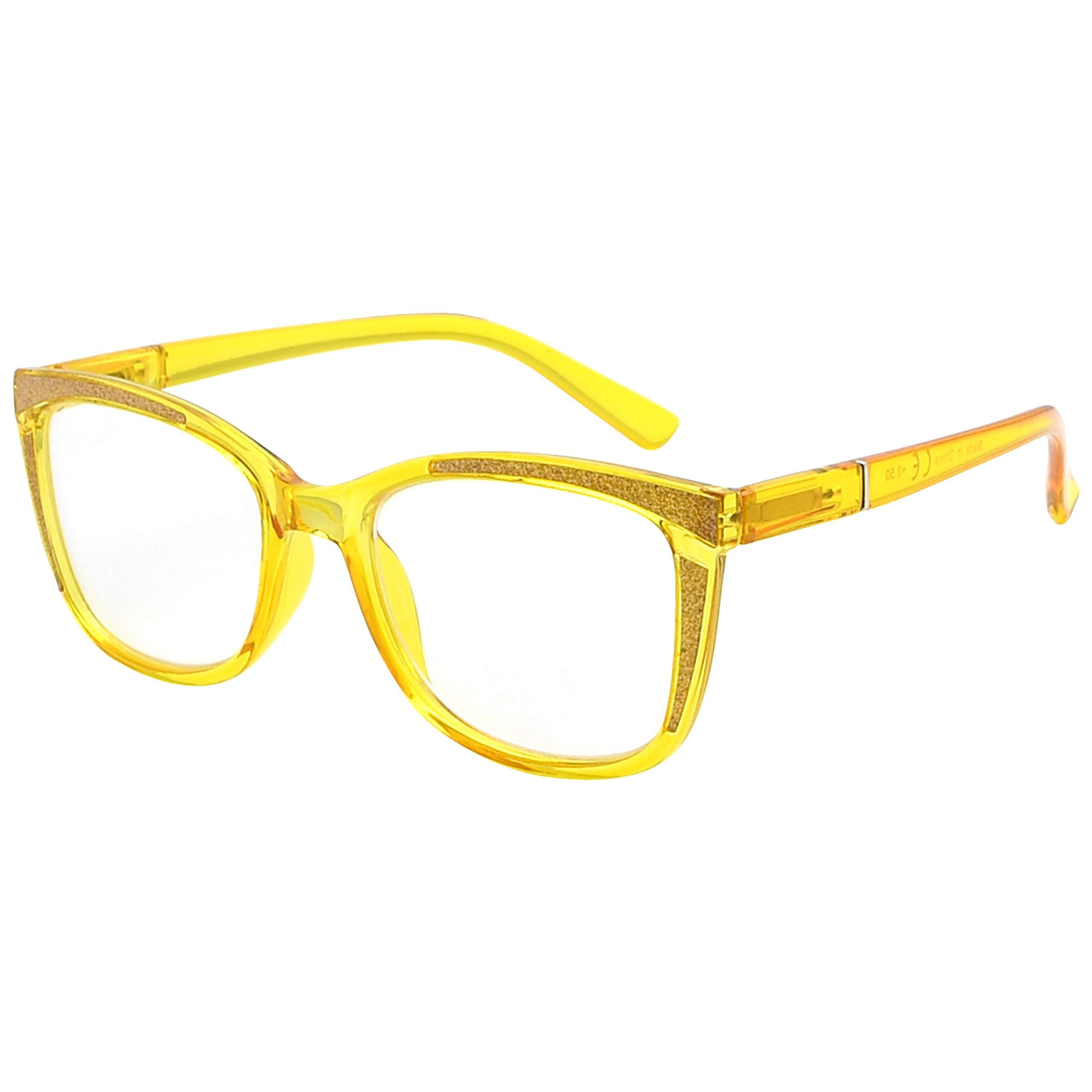 Eyekepper Ladies Reading Glasses Cat-eye Pattern Design Readers for Women