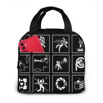 Lunch Bag for Women/Men/Kids-Cartoon Cute villain Insulated Lunch Box Big Leakproof Daily Mom Bag Large Capacity Freezable Cooler Thermal Reusable Waterproof Soft Bags for Lunch Box, Travel, Fishing