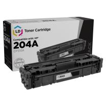 LD Compatible Toner Cartridge Replacement for HP 204A CF510A (Black)