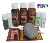 Leather Repair and Refinish for Handbags/Shoes/Boots/Jackets/Leather Max (Earth Brown)