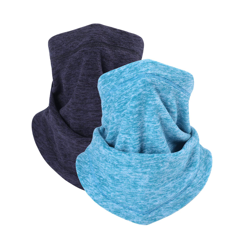 Atneato Neck Gaiter Face Bandana - Neck Warmer & Neck Cover & Face Scarf Windproof Half Balaclava Ski Mask