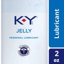 K-Y Jelly Personal Lubricant (2oz), Premium Water Based Lube for Men, Women & Couples (Pack of 3)