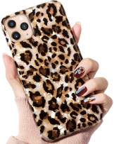 IDweel iPhone 11 Pro Max Case Cheetah, Case for New iPhone 11 Pro Max 6.5 Inch Luxury Sparkle Bling Translucent Leopard Print Soft Phone Case for Girls Women Slim Fit Fashion Design Pattern, Cheetah