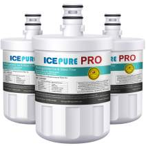 ICEPURE PRO NSF 53&42 Certified reduce 99.6% lead and more Refrigerator Water Filter Compatible with LG LT500P,5231JA2002A,ADQ72910901,GEN11042FR-08,Kenmore 9890 3PACK