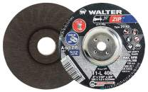 Walter 11L308 ZIP Performance Cutting and Grinding Cutoff Wheel - [Pack of 25] A-60-ZIP Grit, 3 in. Abrasive Wheel. Abrasive and Finishing Supplies
