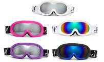 Cloud 9 - Women Ski Goggles & Teen Junior Snow Goggles Poptart Anti-Fog Windproof UV400 Dual Lens Snowboarding Ski Spherical Lenses