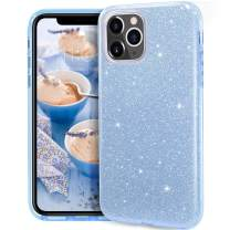 MATEPROX iPhone 11 Pro case,Bling Sparkle Cute Girls Women Protective Case for iPhone 11 Pro 5.8 inch(Blue)