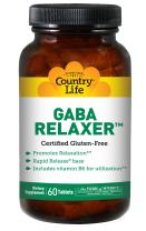 Country Life Gaba Relaxer (rr), 60 Count