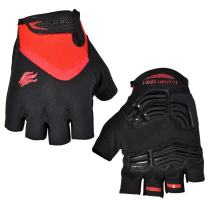FIRELION Breathable Cycling Gloves (Half Finger) - Gel Pad Anti-Slip Shock-Absorbing MTB DH - Mountain Road Bike Bicycle Gloves