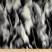 Shannon Luxury Faux Fur Tibetan Sand Fox White/Pewter