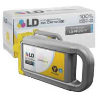 LD Compatible Ink Cartridge Replacement for Canon PFI-701Y 0903B001AA High Yield (Yellow)
