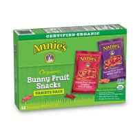 Annie's Organic Bunny Fruit Snacks Variety Pack, 9.6 Ounce