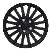 "Pilot Automotive WH521-16C-B All Black 16"" Indy Wheel Cover, (Set of 4)"