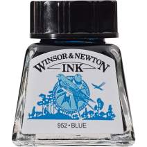 Winsor & Newton Drawing Ink Bottle, 14ml, Blue
